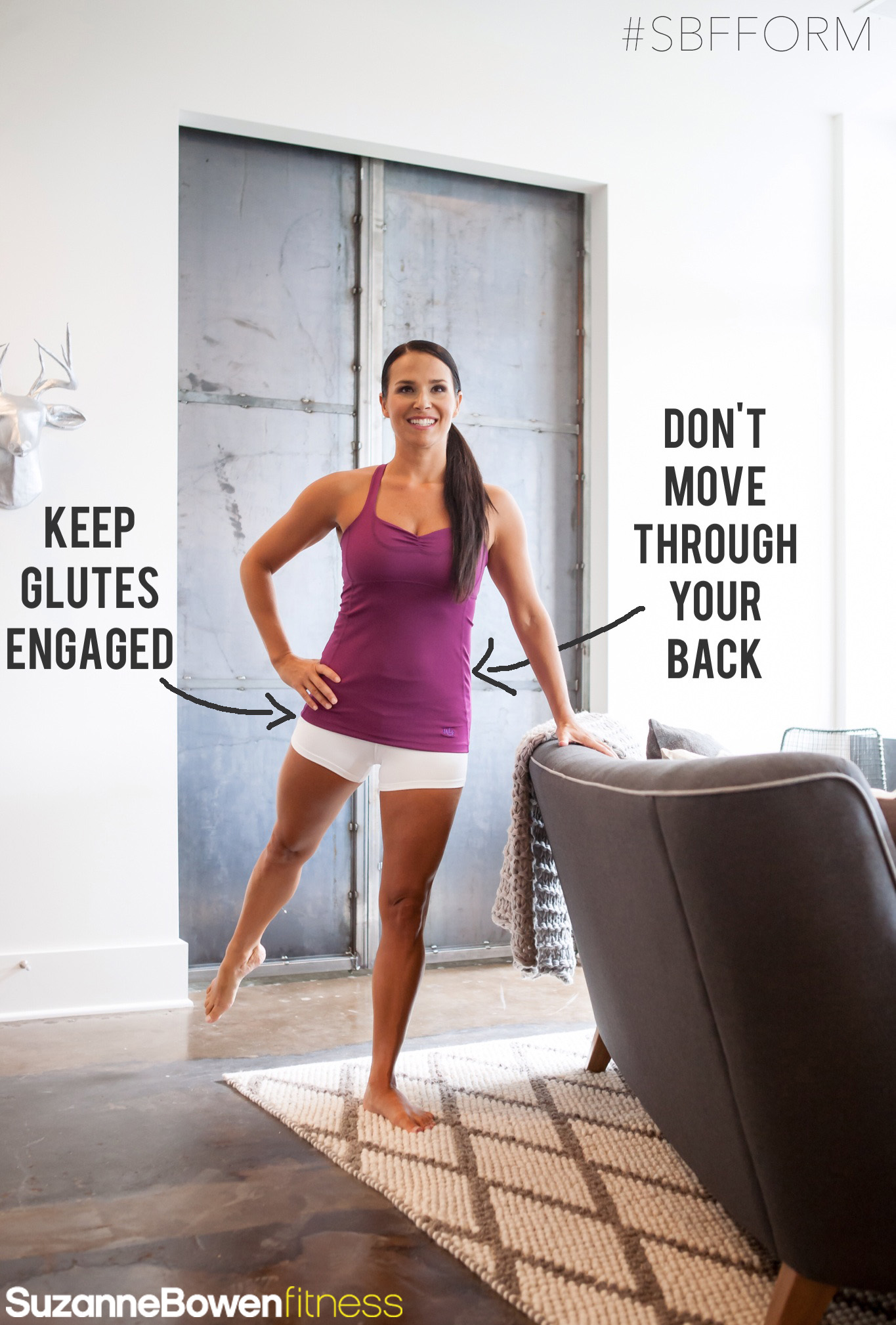 Lift the Booty & Back of Thigh with Barre