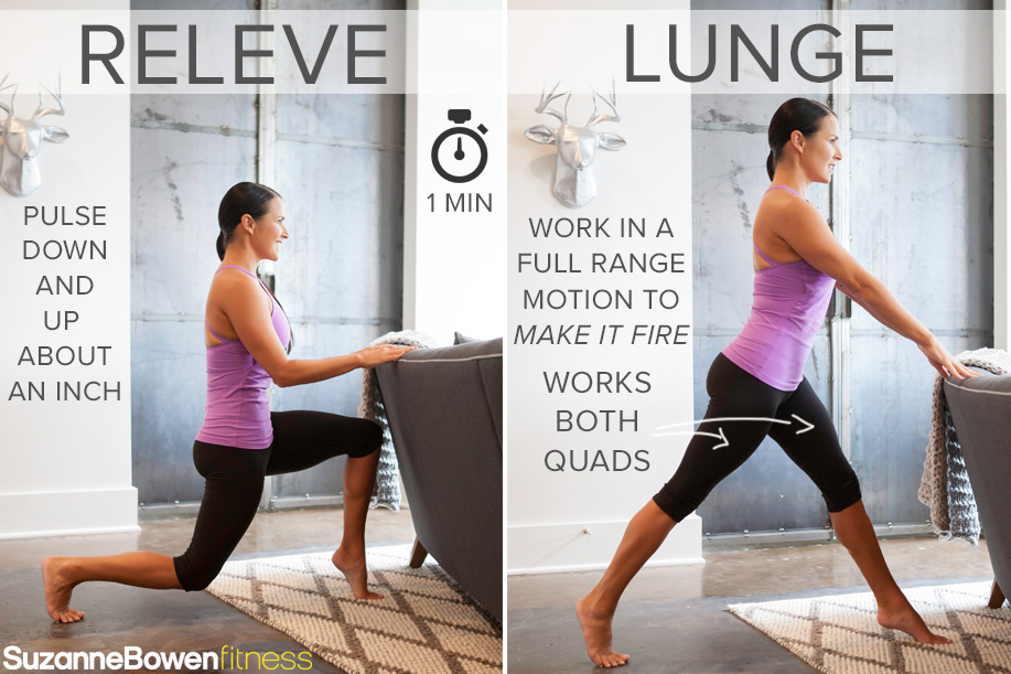 Releve Lunge